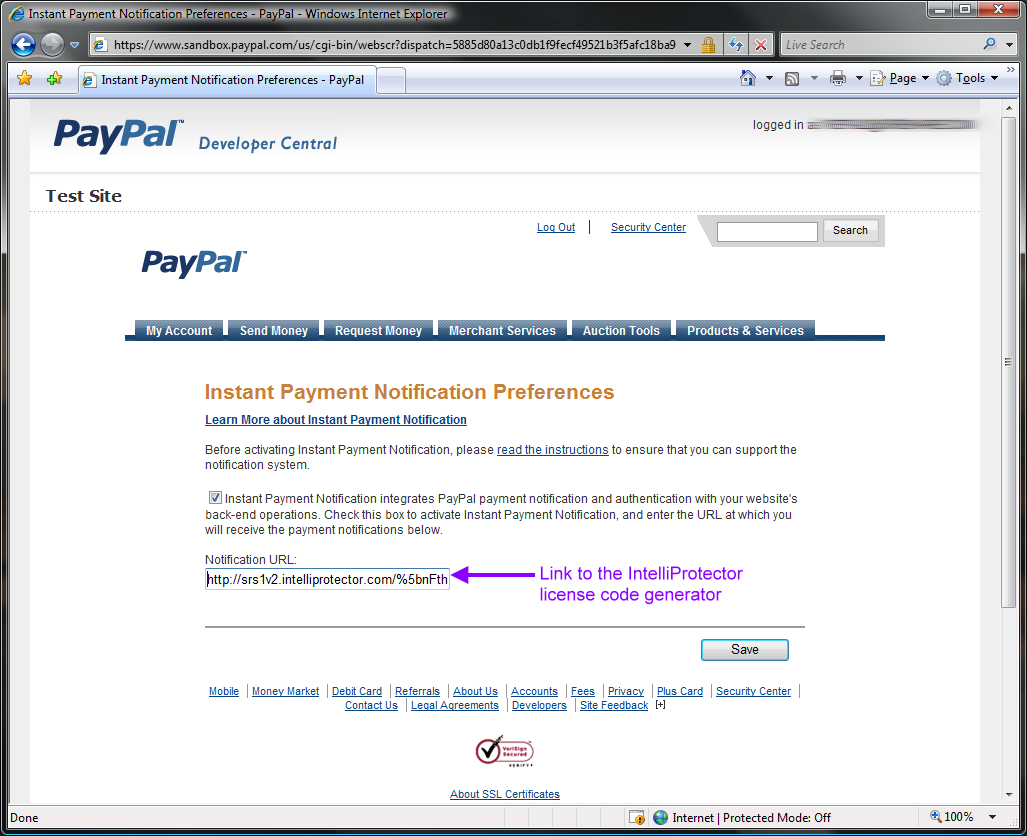 Paypal sandbox 6 seller instant payment notification preferences 1betcityfo Image collections